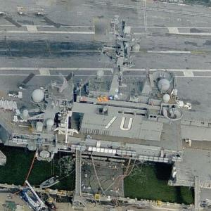 Aircraft Carrier USS Enterprise (CVN-65) (Birds Eye)
