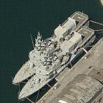 Iraq corvettes on La Spezia Harbour (Birds Eye)