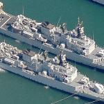 "Italian Frigates class Maestrale ""Libeccio"" (F572) and ""Grecale"" (F571) (Birds Eye)"