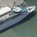 Cruise Ship Costa Classica (Birds Eye)