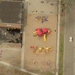 Washington Elementary School playground (Birds Eye)