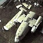 C-119 Flying Boxcar in pieces