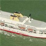 Transeuropa Ferry 'Oleander' departing Ostend