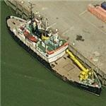 Belgian buoy tender (Birds Eye)