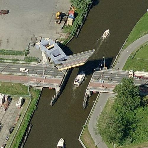 Slauerhoffbrug (Birds Eye)