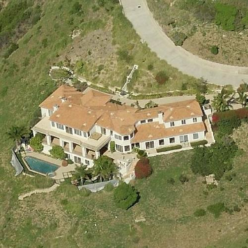 Celebrity homes in malibu map location