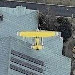 Rooftop Cessna 152 (Birds Eye)