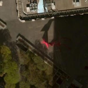 'Four Arches' by Alexander Calder (Bing Maps)