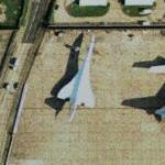 Concorde at Heathrow Airport (Bing Maps)