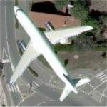 Airplane In Flight (Bing Maps)