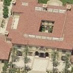 Michael Jackson's Rented House (former) (Birds Eye)