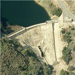 San Dimas Dam and Reservoir (Birds Eye)