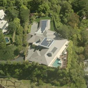 Bill Gross's current and Jennifer Aniston's former House (Birds Eye)