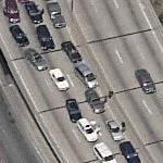 Traffic jam on FDR Drive