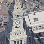 Clock Tower in Boston (Birds Eye)