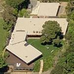 Brad Pitt & Angelina Jolie's House (former) (Birds Eye)