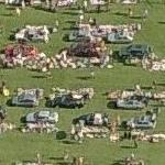 A127 Giant Car Boot Sale (Birds Eye)