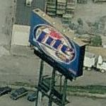 Miller Lite Billboard (Birds Eye)