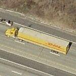 DHL Truck (Birds Eye)