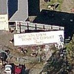 Chick-fil-A billboard (Birds Eye)