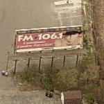 FM106.1 billboard (Birds Eye)