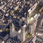 Rouen cathedral (Bing Maps)