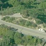 The Universal City Overlook (Mulholland Drive) (Birds Eye)