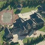 Jermaine O'Neal's House (Birds Eye)