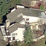 Johnny Bench's House (former) (Birds Eye)