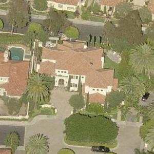 Kobe Bryant's House (former) (Birds Eye)