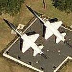 Two T-38 Talons (Bing Maps)