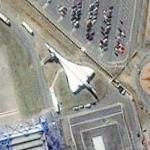 Concorde 201 at Airbus Factory (Bing Maps)