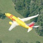 Southwest Airlines 'New Mexico One' in flight (Birds Eye)