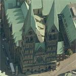 St. Petri Dom Bremen (Birds Eye)