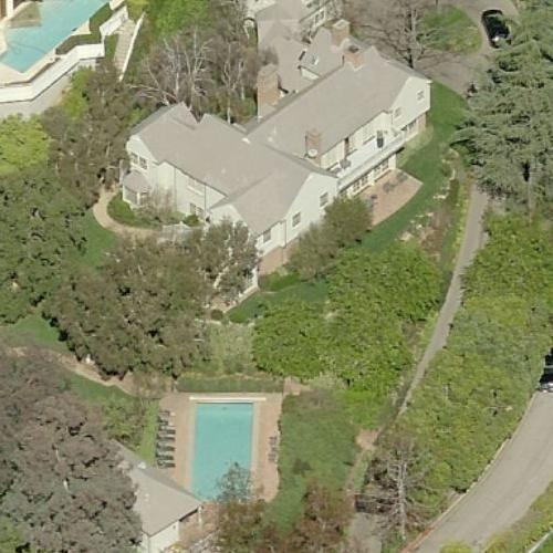 Evan Spiegel & Miranda Kerr's House (formerly owned by Harrison Ford) (Birds Eye)