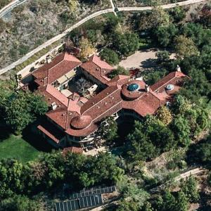 Arnold Schwarzenegger's House (Birds Eye)
