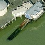Clacton Pier RNLI lifeboat station (Birds Eye)