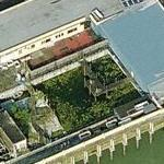 Abandoned Dolphinarium at Clacton Pier (Birds Eye)