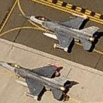F-16 Fighting Falcons preparing to take-off
