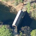 Babb's Covered Bridge (Birds Eye)