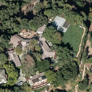 Ben Affleck & Jennifer Garner's House (Bing Maps)