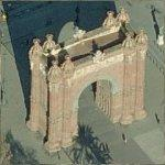 Arc de Triomf (Birds Eye)