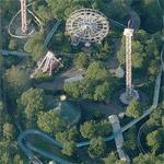 Amusement Park Liseberg (Birds Eye)