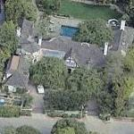 Brad Pitt & Jennifer Aniston's House (former) (Birds Eye)