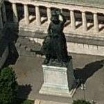 Bavaria Statue (Birds Eye)