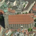 Cathedral Church of Our Lady (Frauenkirche) (Birds Eye)