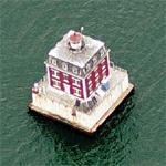 New London Ledge Lighthouse (Birds Eye)