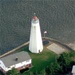 Lynde Point Lighthouse (Birds Eye)