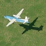 KLM Cityhopper Fokker 50 (Birds Eye)