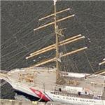 US Coast Guard Academy's training cutter USCGC Eagle (WIX-327)